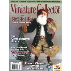 Reportage over Montheron in Miniature Collector magazine